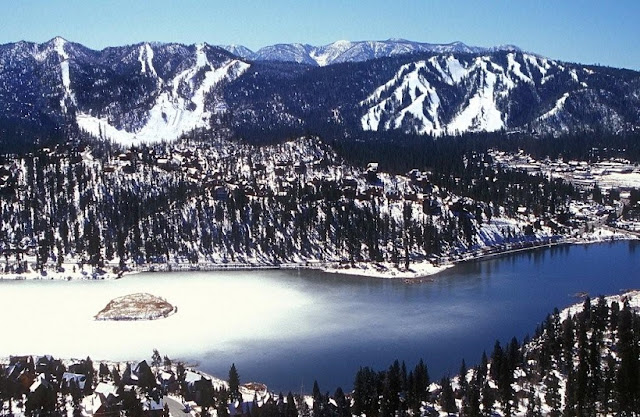 Big Bear Mountain na Califórnia