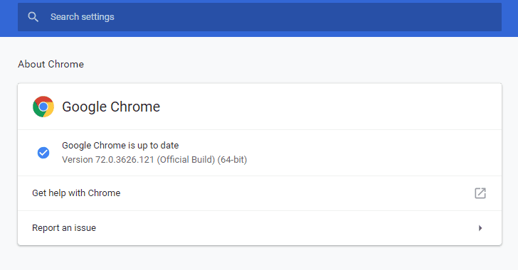 update download google chrome