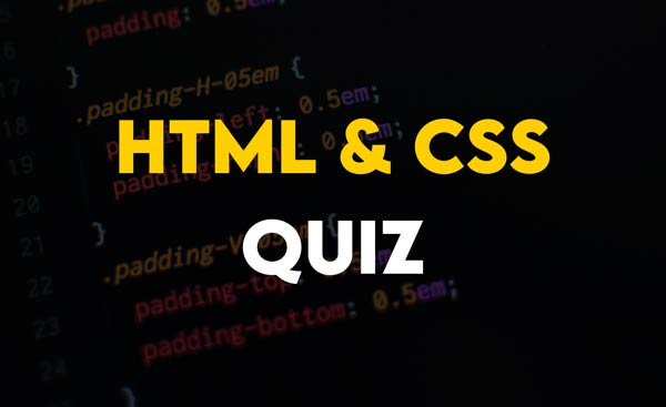 HTML and CSS related Multiple Choice Questions Part 1