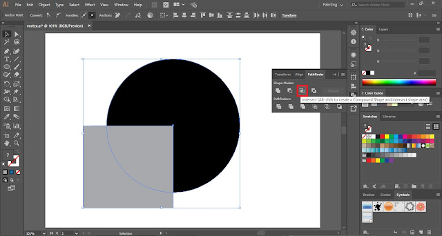 How to create Vortex in Adobe Illustrator?