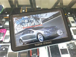 GPS Mobil Super Spring SF410ii GPS Navigasi Seken
