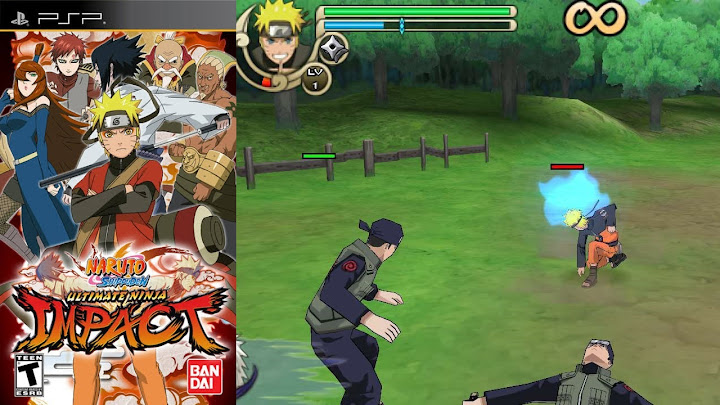 Naruto Shippuden - Ultimate Ninja Impact | PPSPP