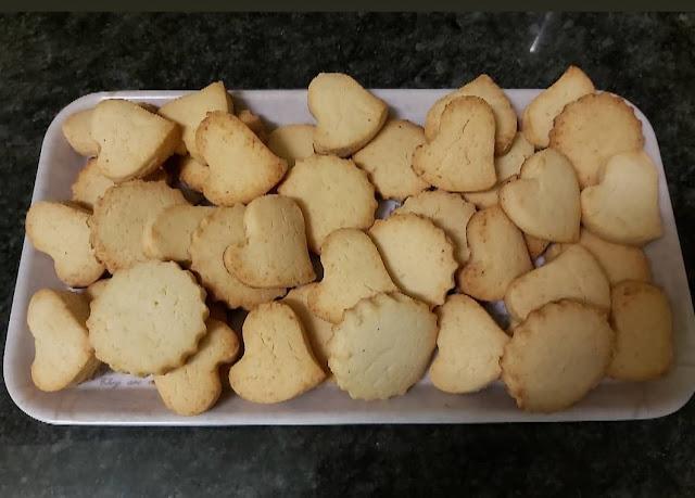Galletas de nata y almendra sin gluten y sin azúcar