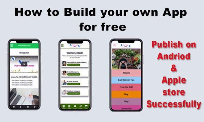 best way to make your own mobile app for free