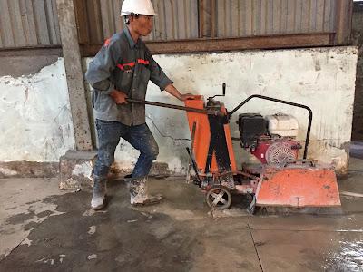 Khoan cắt bê tông tại huyện Châu Thành, Hậu Giang