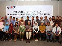 LKPP - Recruitment For D3, S1 Fresh Graduate Supporting Staff Verificator, Treasurer LKPP May 2016