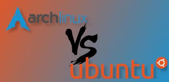 Perbandingan Antara Arch Linux dan Ubuntu?