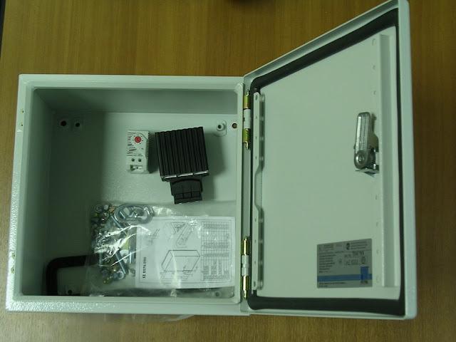 Термобокс RTL для защиты оборудования от внешних воздействий и низких температур всепогодный шкаф, оснащенный системой терморегулирования и надежным замком