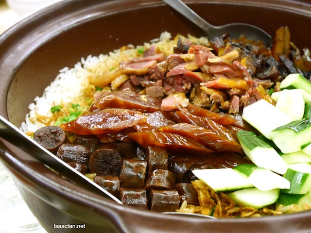 Sakura Prawn Wax Meat Rice - RM88+