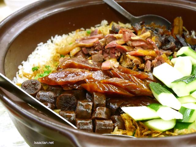 Sakura Prawn Wax Meat Rice - RM88+