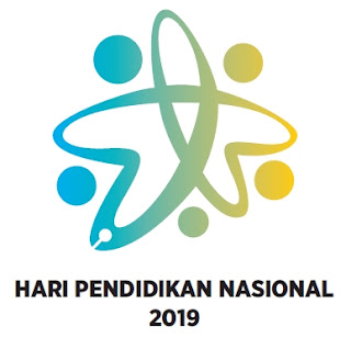 Logo Peringatan Hardiknas Tahun 2019