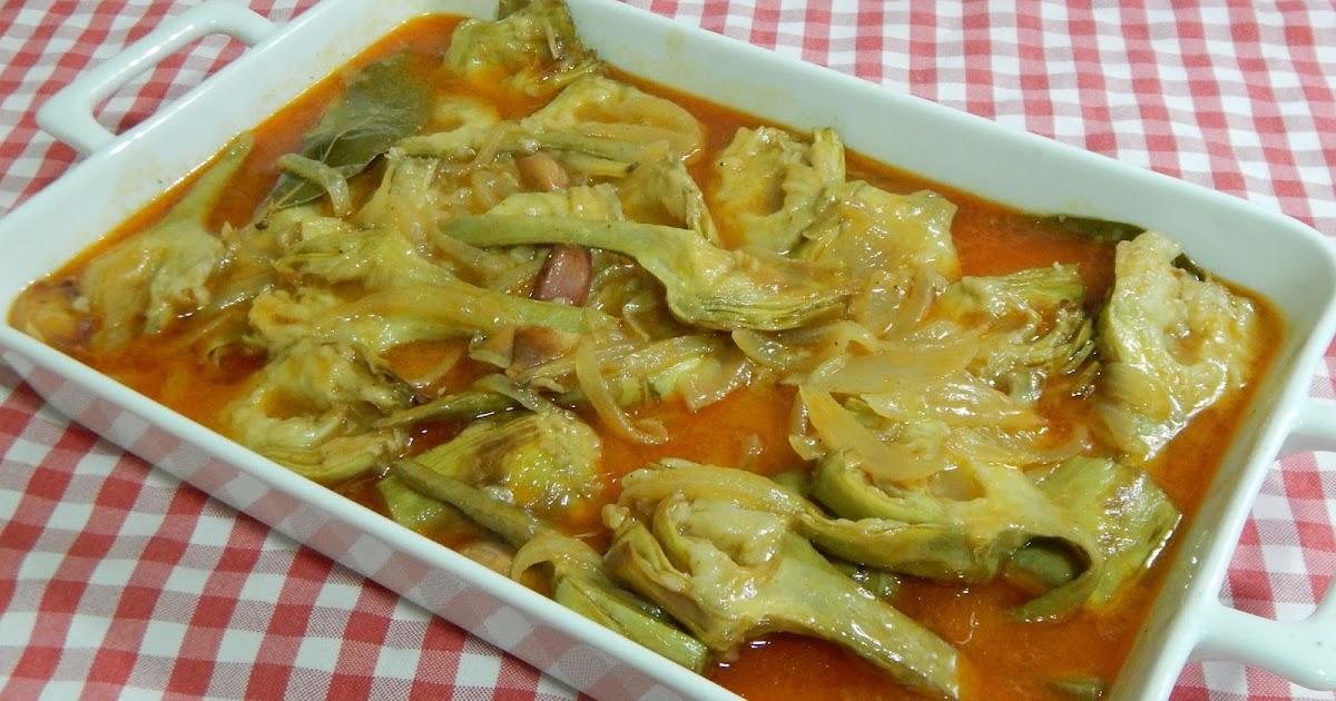 C mo hacer alcachofas en escabeche recetas de cocina con - Como hacer alcachofas en salsa ...