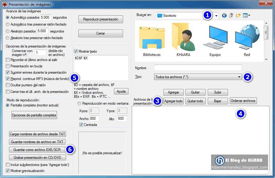 Como crear un protector de pantalla con música de fondo en IrfanView - El Blog de HiiARA