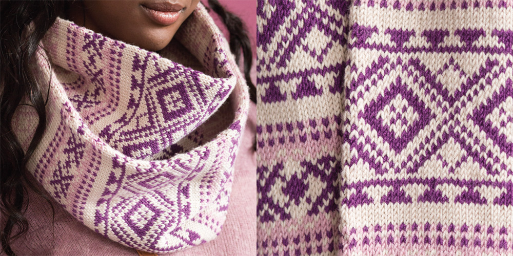 Vogue Knitting Cowl Pattern : The Knitting Needle and the Damage Done: Vogue Knitting Winter 2016/2017 Issu...