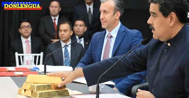 Denuncian que Maduro vendió a escondidas 300 toneladas del Oro Venezolano
