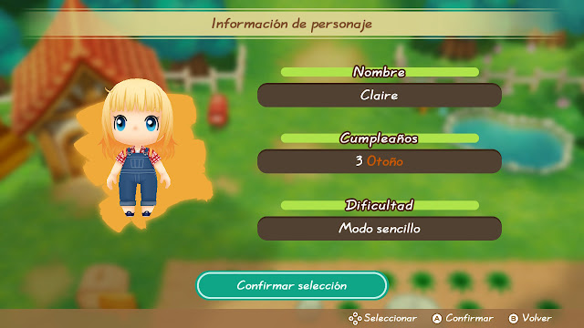 Inicio - Story of Seasons: Friends of Mineral Town