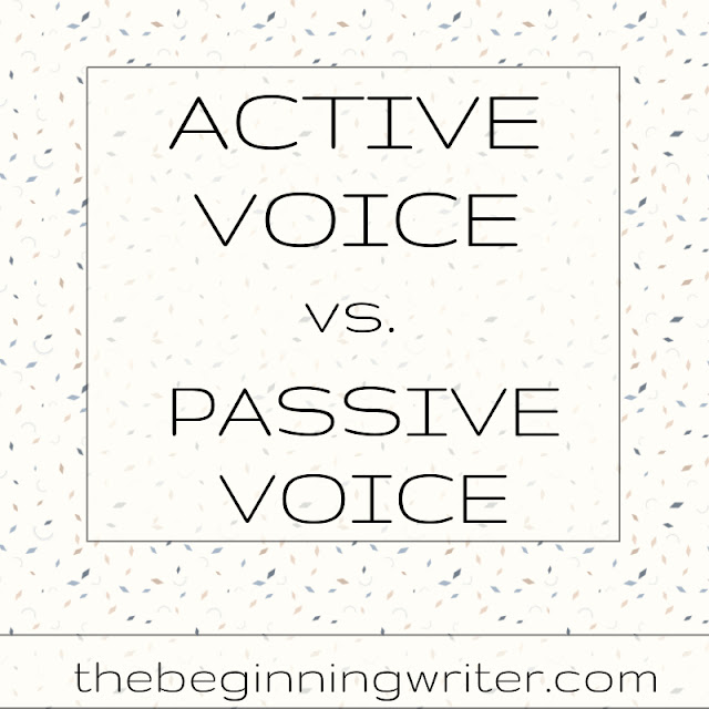 how to explain active and passive voice