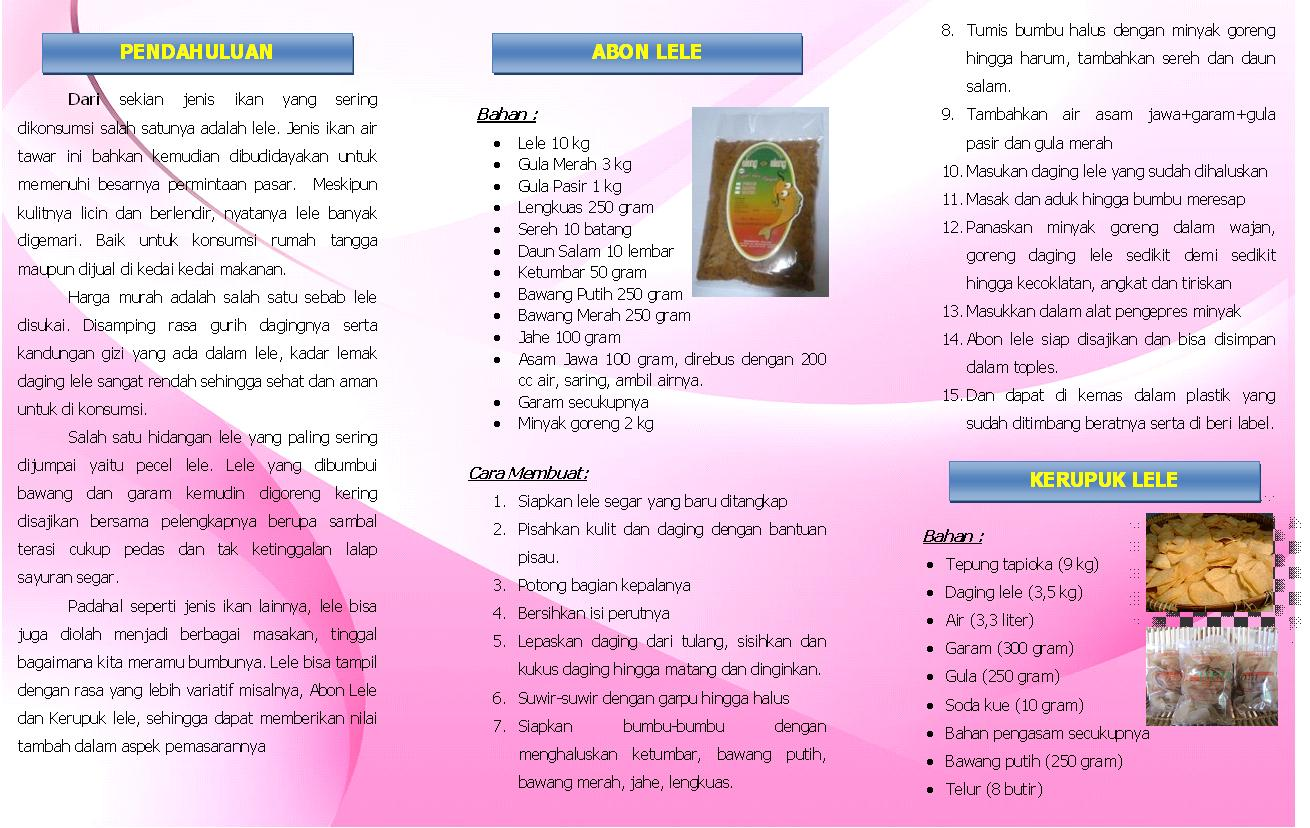 Informasi Endin Syafrudin Leaflet Perikanan Sumber Http Www