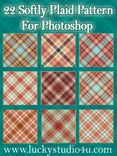 22 Softly Plaid Pattern