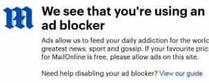 We see that you're using an ad blocker