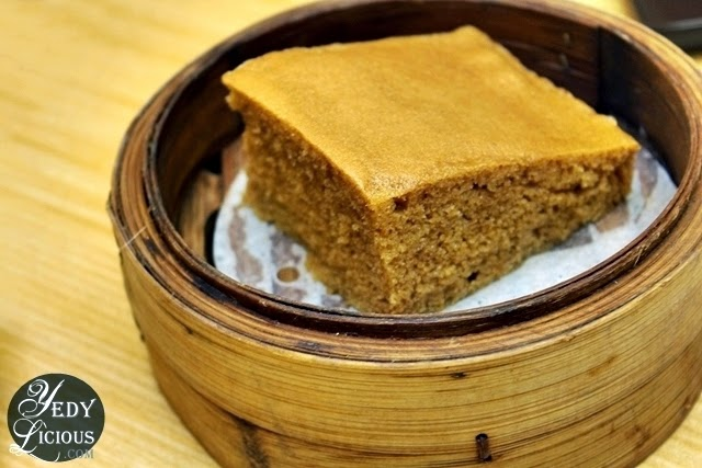 Steamed Egg Caake at Tim Ho Wan Manila