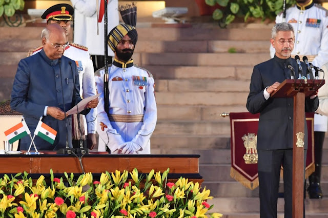S. Jaishankar taking oath