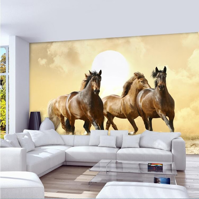 Horse Wall Mural Wallpaper