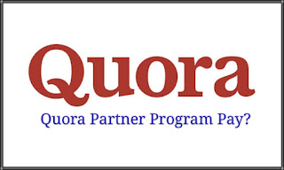Quora Partner Program Pay? First Payment Through Paypal