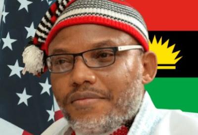 Biafrans Kick As Nnamdi Kanu Unveils New Flag With Jewish Star (Reactions)