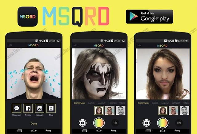 تطبيق رائع لأخد صور و فيديوهات سيلفي مميزة بتغيير شكل وجهك و وضع شخصيات أخرى