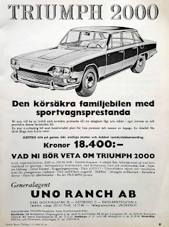 Motorfirma Uno Ranch AB Sweden Triumph Herald 2000