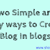How to create a blog on blogspot.com free (Shout Quick)