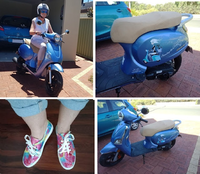 Buying a scooter in my 50's - best decision ever!