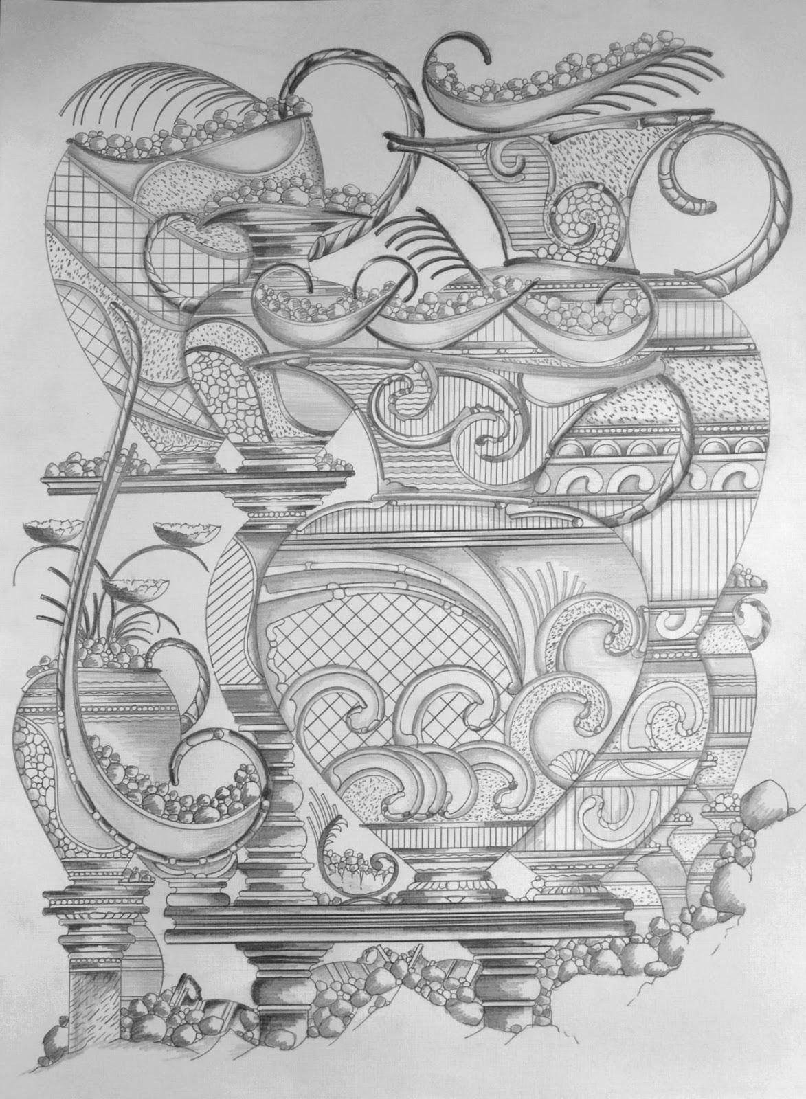 Desenhos à Lápis.