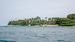 Its a small island with local people