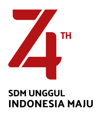 logo hut ri ke 74 revisi terbaru