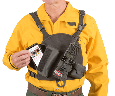 True North Gen 2 Single Universal Radio Chest Harness