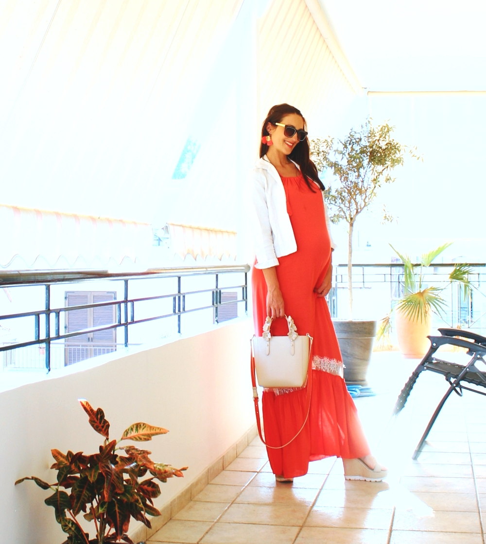 chic pregnancy outfit ideas, trudnicka outfit ideja, stil za trudnice