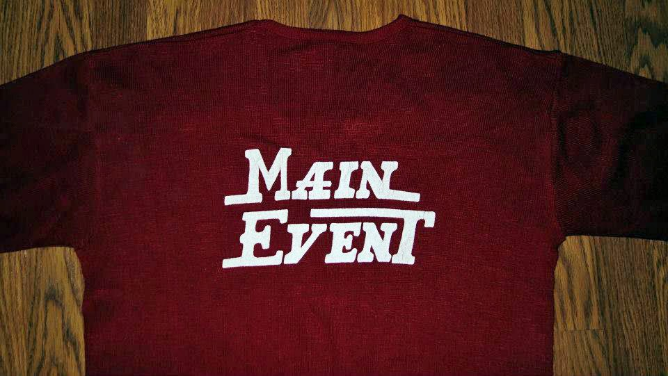 Main Event shirt