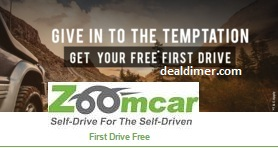 ZoomCar First Drive Free
