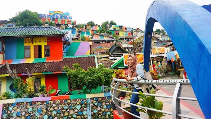 Kampung Pelangi, Melihat Warna Warni Semarang dari Ketinggian
