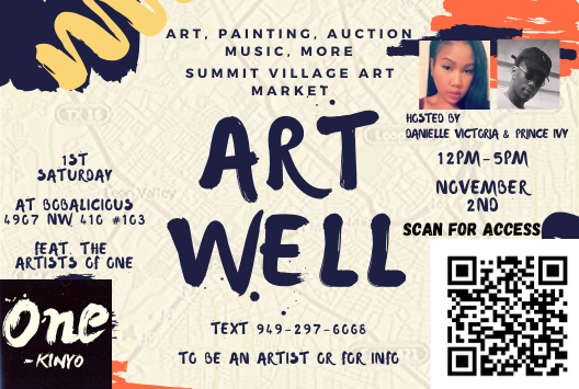 ART WELL - North West San Antonio Art - November 2nd