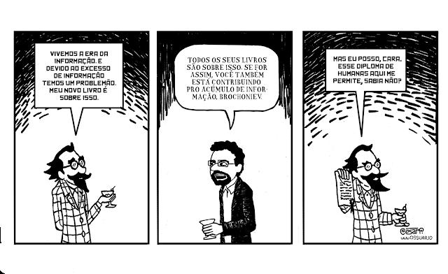 Tirinha sobre A Era da Informação