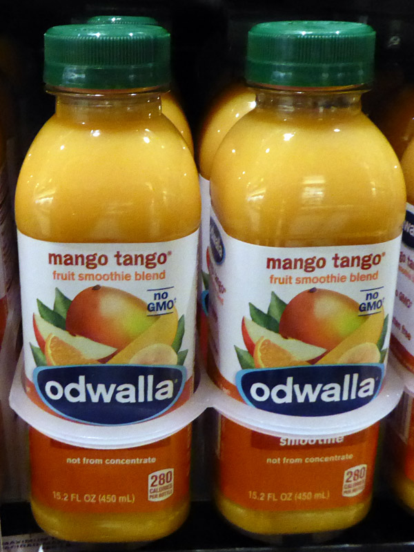 Musical terms in the marketplace - Mango Tango juice