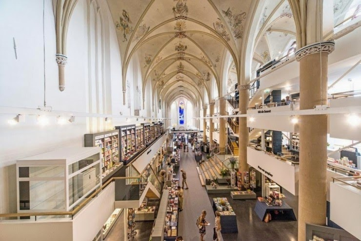13. Broerenkerk, Zwolle, the Netherlands - 31 Incredible Libraries and Bookstores Around the World
