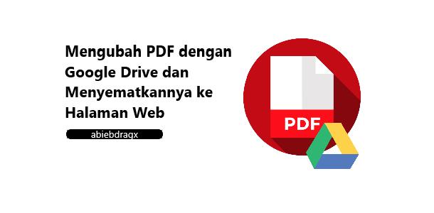 mengubah pdf dengan google drive