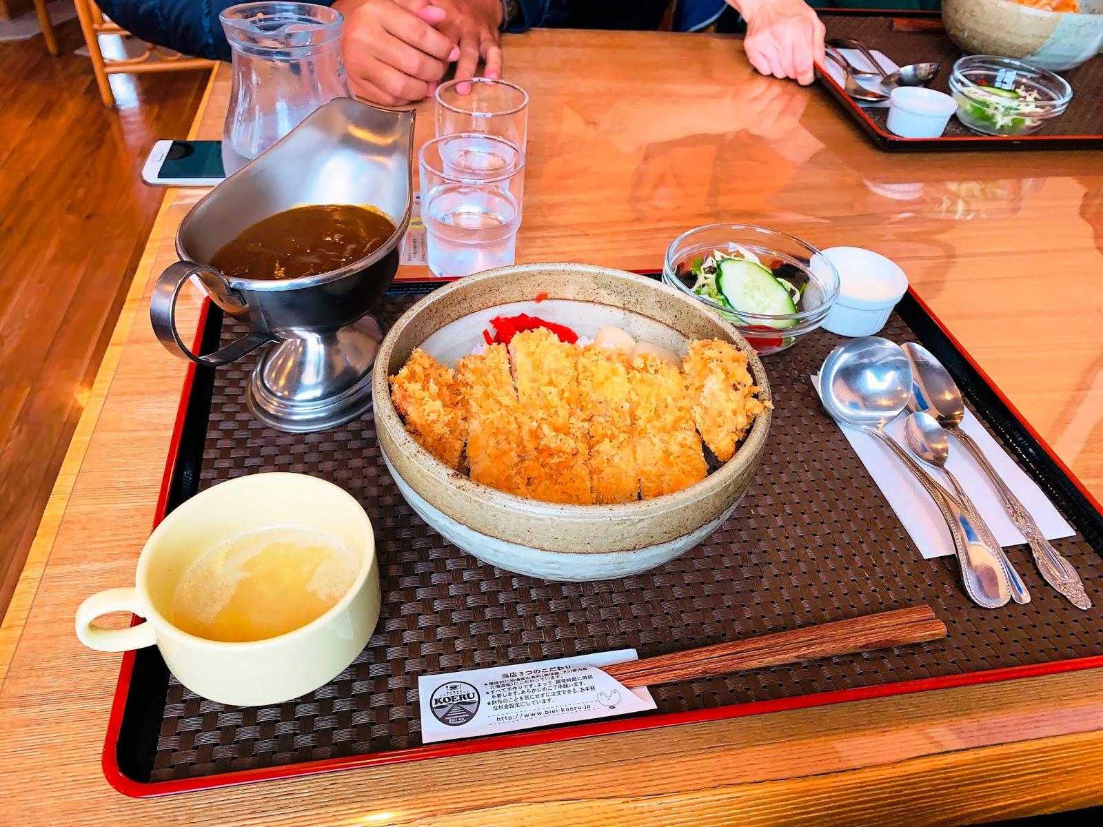 北海道 KOERU 咖哩豬排