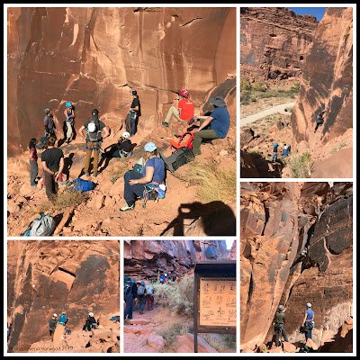 climbing, sandstone, kane springs canyone, moab craggin classic
