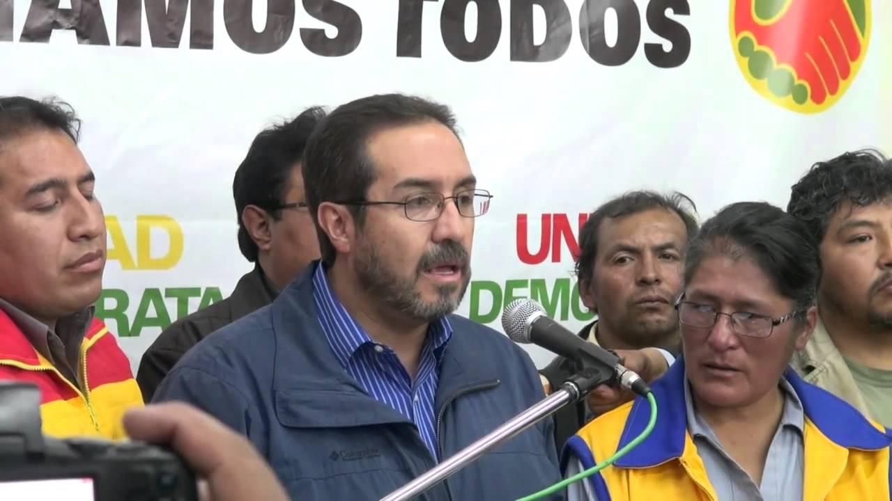 Navarro junto a legisladores de la alianza Unidad Demócrata  / RRSS