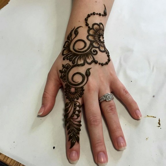 Indian Hands and Feet Mehndi Designs 2016 for Eid